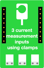Connected sensor for current measurement using clamps - for TYNESS sensor - Ewattch