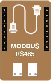 Capteur MODBUS - Interface MODBUS permettant de communiquer en mode maitre ou esclave - capteur TYNESS