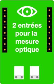 Carte optique - mesure capteur optique - capteur TYNESS - Ewattch