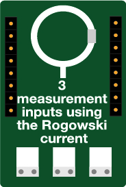 Rogowski current measurement sensor - connected sensor - Ewattch