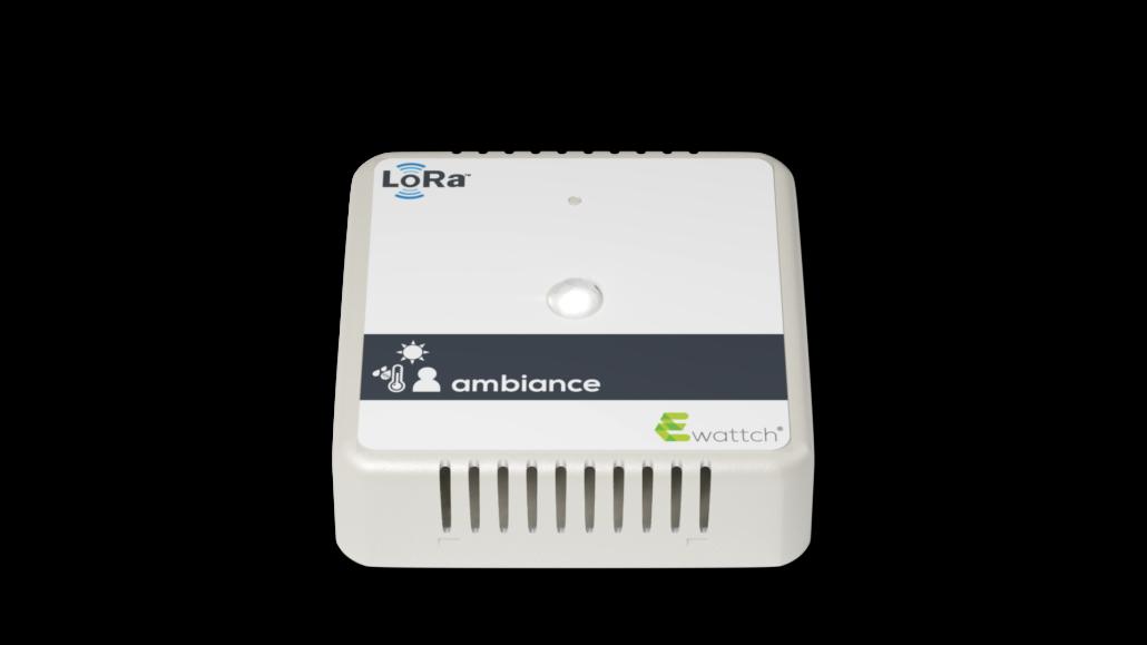 capteur ambiance Ewattch Lora - capteur température - capteur luminosité - capteur présence
