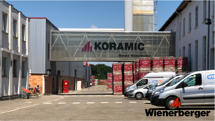 Usine connectée - Fabrication tuile Koramic - Wienerberger - Client Ewattch