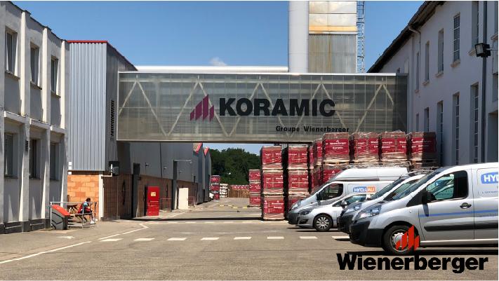 Usine connectée - Fabrication tuile Koramic - Wienerberger - Client Ewattch